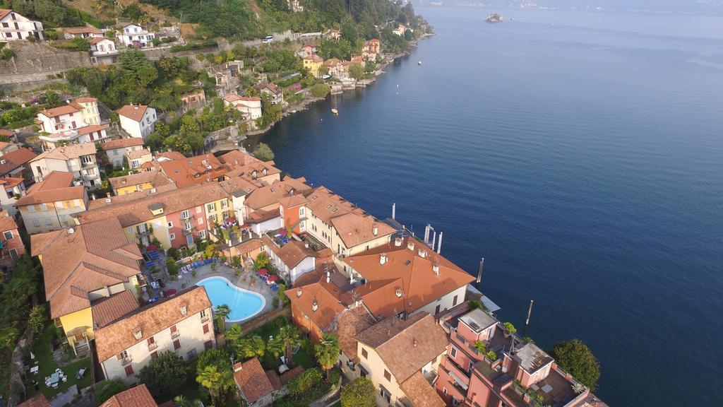 Lago maggiore sfeervol hotel met zwembad in cannero riviera for Designhotel lago maggiore